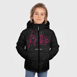 Куртка зимняя для мальчика Pink Phloyd: Lonely star цвета 3D-черный — фото 2