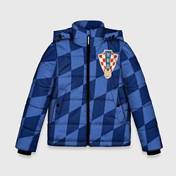 Куртка зимняя для мальчика Сборная Хорватии цвета 3D-черный — фото 1