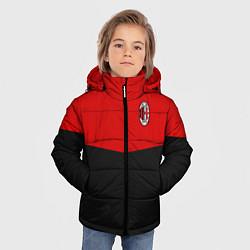 Куртка зимняя для мальчика АC Milan: R&B Sport цвета 3D-черный — фото 2