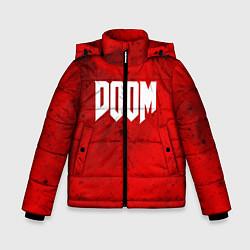 Куртка зимняя для мальчика DOOM: Marsian Blood цвета 3D-черный — фото 1
