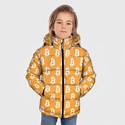 Куртка зимняя для мальчика BTC Pattern цвета 3D-черный — фото 2