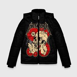 Куртка зимняя для мальчика Metallica Skull - фото 1
