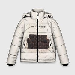 Куртка зимняя для мальчика The Cranberries: Zombie цвета 3D-черный — фото 1