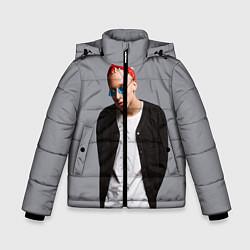 Куртка зимняя для мальчика T-Fest цвета 3D-черный — фото 1