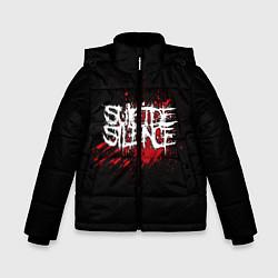 Куртка зимняя для мальчика Suicide Silence Blood цвета 3D-черный — фото 1