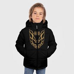 Куртка зимняя для мальчика Khabib: Gold Eagle цвета 3D-черный — фото 2