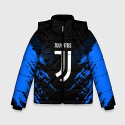 Куртка зимняя для мальчика JUVENTUS Sport цвета 3D-черный — фото 1