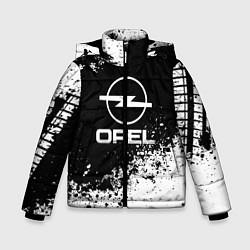 Куртка зимняя для мальчика Opel: Black Spray цвета 3D-черный — фото 1