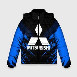 Куртка зимняя для мальчика Mitsubishi: Blue Anger цвета 3D-черный — фото 1