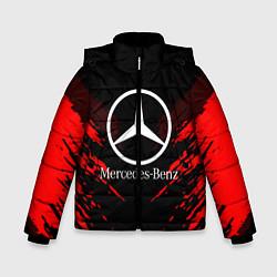 Куртка зимняя для мальчика Mercedes-Benz: Red Anger цвета 3D-черный — фото 1