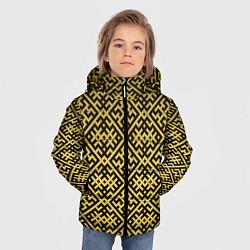 Куртка зимняя для мальчика Духобор: Обережная вышивка - фото 2