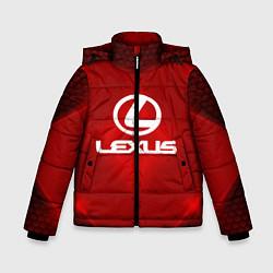 Куртка зимняя для мальчика Lexus: Red Light цвета 3D-черный — фото 1
