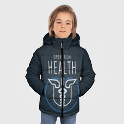 Куртка зимняя для мальчика R6S: Operation Health цвета 3D-черный — фото 2