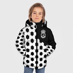 Куртка зимняя для мальчика FC Liverpool: Hexa Style цвета 3D-черный — фото 2