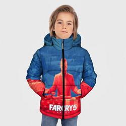 Куртка зимняя для мальчика Far Cry 5: Joseph Seed Family цвета 3D-черный — фото 2
