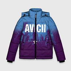 Куртка зимняя для мальчика Avicii Star цвета 3D-черный — фото 1