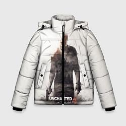 Куртка зимняя для мальчика Uncharted 4: Nathan цвета 3D-черный — фото 1
