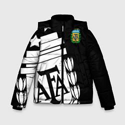 Куртка зимняя для мальчика Argentina Team: Exclusive цвета 3D-черный — фото 1