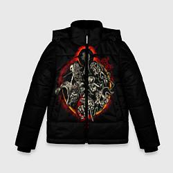 Куртка зимняя для мальчика Berserk Devils цвета 3D-черный — фото 1