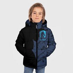 Куртка зимняя для мальчика CS:GO Team Liquid цвета 3D-черный — фото 2