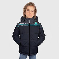 Куртка зимняя для мальчика Detroit: AX400 цвета 3D-черный — фото 2
