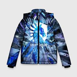 Детская зимняя куртка для мальчика с принтом Team Liquid: Splinters, цвет: 3D-черный, артикул: 10156122106063 — фото 1