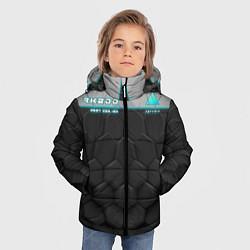 Куртка зимняя для мальчика Detroit: RK800 Grey Style цвета 3D-черный — фото 2