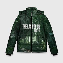 Куртка зимняя для мальчика The Last Of Us: Dark Forest цвета 3D-черный — фото 1