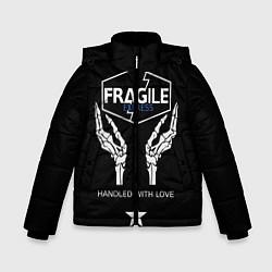 Куртка зимняя для мальчика Death Stranding: Fragile Express цвета 3D-черный — фото 1