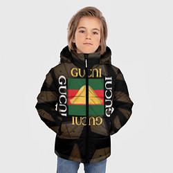 Куртка зимняя для мальчика Gusli Gusli цвета 3D-черный — фото 2