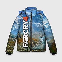 Куртка зимняя для мальчика Far Cry 4: Ice Mountains цвета 3D-черный — фото 1