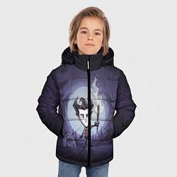 Куртка зимняя для мальчика Wilson under the moon цвета 3D-черный — фото 2