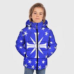 Куртка зимняя для мальчика Far Cry 5: Blue Cult Symbol цвета 3D-черный — фото 2