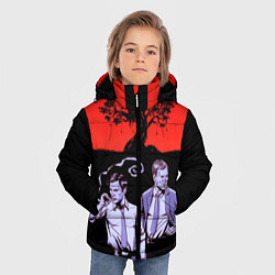 Куртка зимняя для мальчика True Detective: Double Agents цвета 3D-черный — фото 2