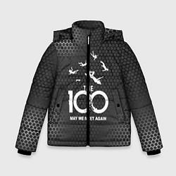 Куртка зимняя для мальчика The 100 цвета 3D-черный — фото 1