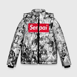 Куртка зимняя для мальчика SENPAI Stories цвета 3D-черный — фото 1