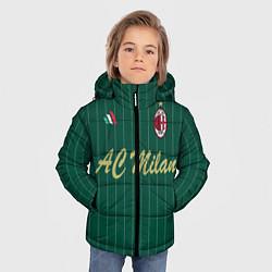 Куртка зимняя для мальчика AC Milan: Green Form цвета 3D-черный — фото 2