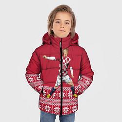 Куртка зимняя для мальчика Luka Modric цвета 3D-черный — фото 2