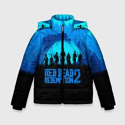 Куртка зимняя для мальчика RDR 2: Blue Style цвета 3D-черный — фото 1