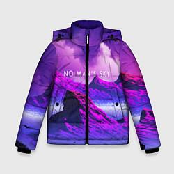 Куртка зимняя для мальчика No Man's Sky: Neon Mountains цвета 3D-черный — фото 1