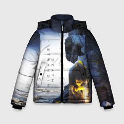 Куртка зимняя для мальчика Death Stranding: Exclusive цвета 3D-черный — фото 1