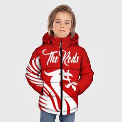 Куртка зимняя для мальчика The Reds цвета 3D-черный — фото 2