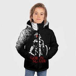 Куртка зимняя для мальчика Goblin Slayer цвета 3D-черный — фото 2