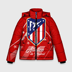 Куртка зимняя для мальчика ФК Атлетико Мадрид цвета 3D-черный — фото 1