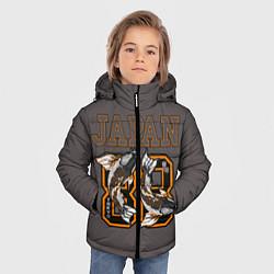 Детская зимняя куртка для мальчика с принтом Japan 88, цвет: 3D-черный, артикул: 10172525506063 — фото 2