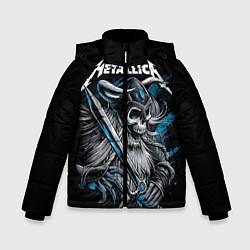 Куртка зимняя для мальчика Metallica цвета 3D-черный — фото 1