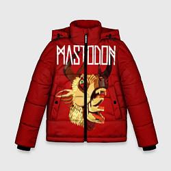 Детская зимняя куртка для мальчика с принтом Mastodon: Leviathan, цвет: 3D-черный, артикул: 10172762506063 — фото 1
