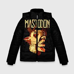 Куртка зимняя для мальчика Mastodon: Leviathan цвета 3D-черный — фото 1
