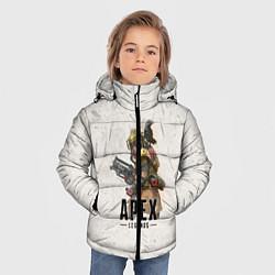 Куртка зимняя для мальчика Apex Legends цвета 3D-черный — фото 2