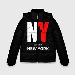 Куртка зимняя для мальчика New York City цвета 3D-черный — фото 1